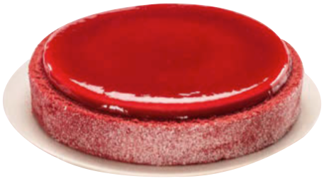 Entremets fruits rouges