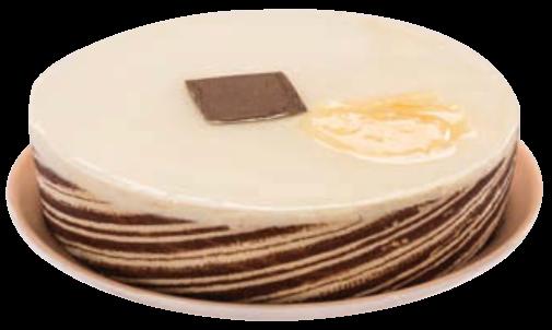 Entremets Poire Caramel