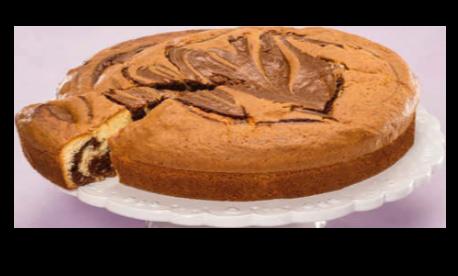 Maxi moelleux marbré chocolat