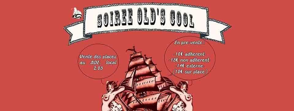 Soirée étudiante Old's Cool – Inalco
