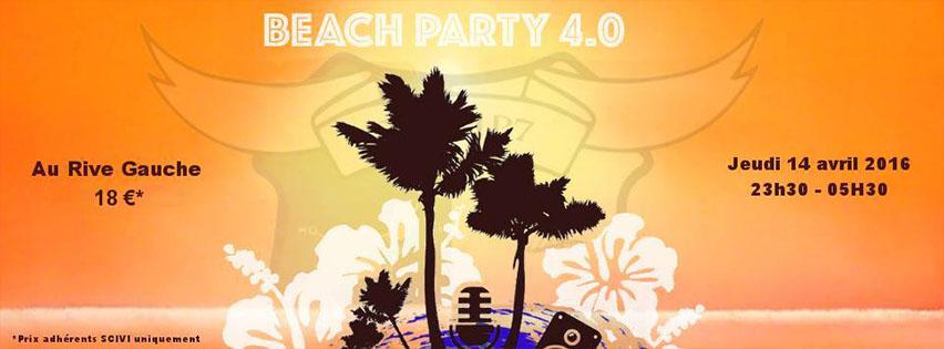 Soirée étudiante Beach Party