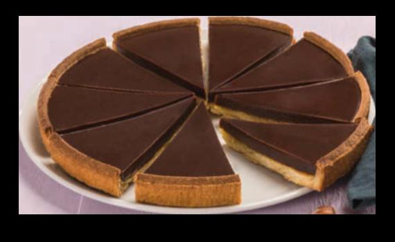 Tarte Noisette Chocolat