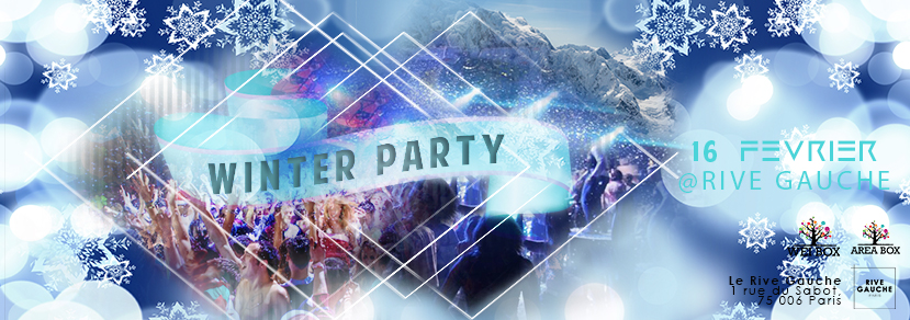 Crazy Winter Party by Area Box @Rive Gauche // 16.02