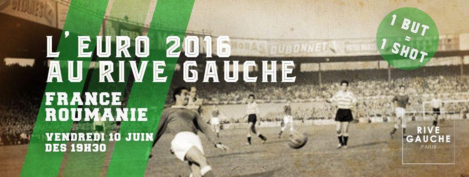 L'Euro 2016 s'invite au Rive Gauche