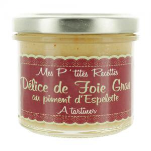 Délices de foie gras au piment d'Espelette