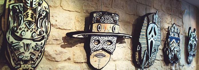 Noty et Aroz, deux artistes à la Fête des voisins du Rive Gauche